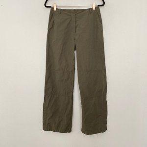 Weekend Max Mara Womens 8 Trouser Pants Green